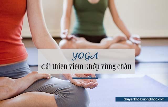 chữa viêm khớp vùng chậu bằng yoga