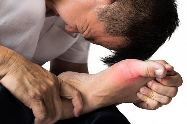 Xương khớp bị ảnh hưởng trong bệnh Gout