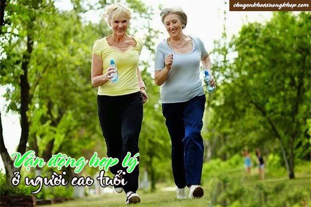 vận động khi cao tuổi