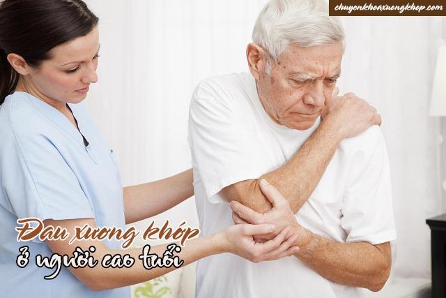 đau xương khớp ở người cao tuổi