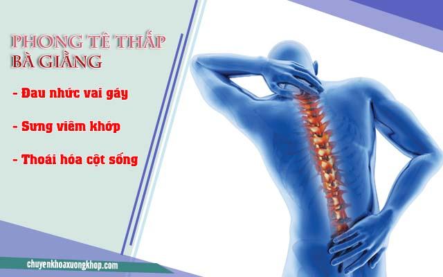 chữa đau xương Phong tê thấp Bà Giằng