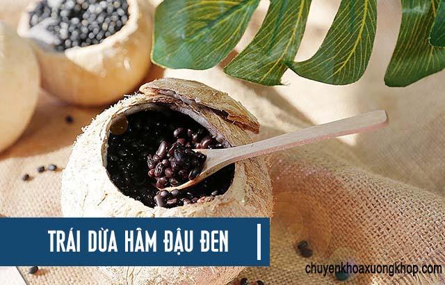 Bài thuốc trị phong thấp viêm khớp từ đậu đen và trái dừa
