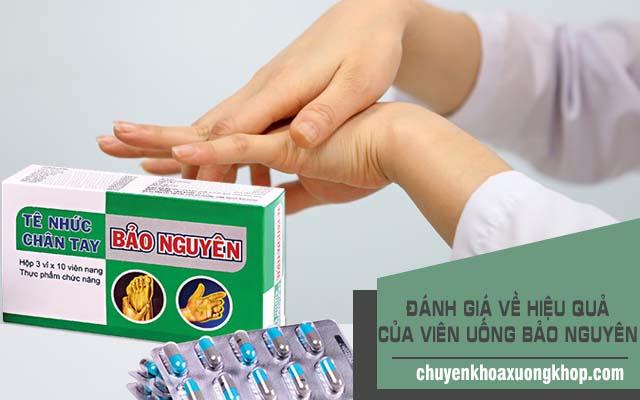 Đánh giá về thuốc tê nhức chân tay Bảo Nguyên