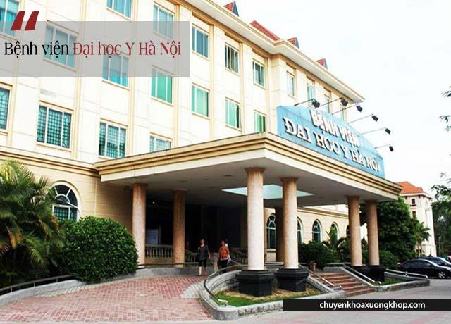 Bệnh viện Đại học Y Hà Nội thực hiện thay khớp gối nhân tạo