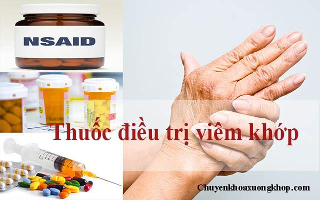 Thuốc điều trị viêm khớp