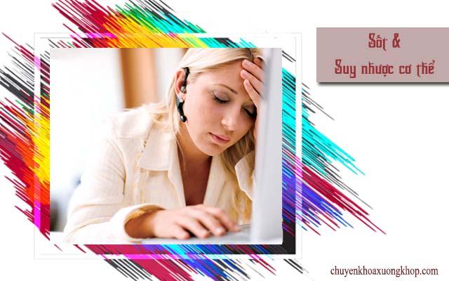 suy nhược cơ thể là dấu hiệu đau dây thần kinh liên sườn