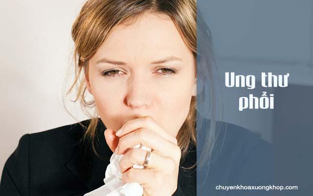 Bệnh ung thư phổi có thể gây đau nhức xương bả vai