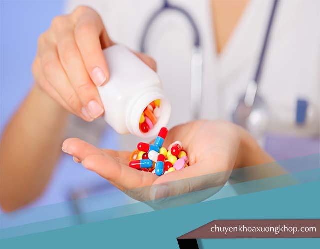 thuốc Tây chữa đau nhức khớp gối không rõ nguyên nhân.