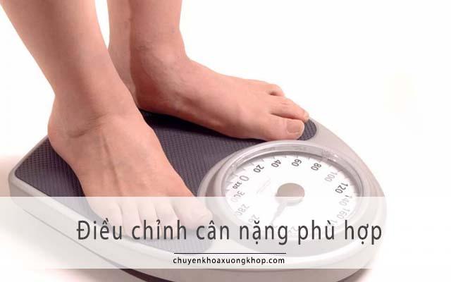Phòng ngừa đau thần kinh tọa bằng cách duy trì cân nặng cân đối
