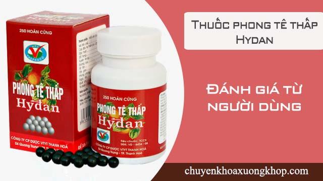 Thuốc phong tê thấp Hydan dùng tốt không? Đánh giá từ người dùng