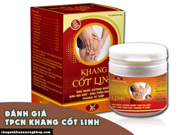 Đánh giá của người dùng về TPCN Khang Cốt Linh