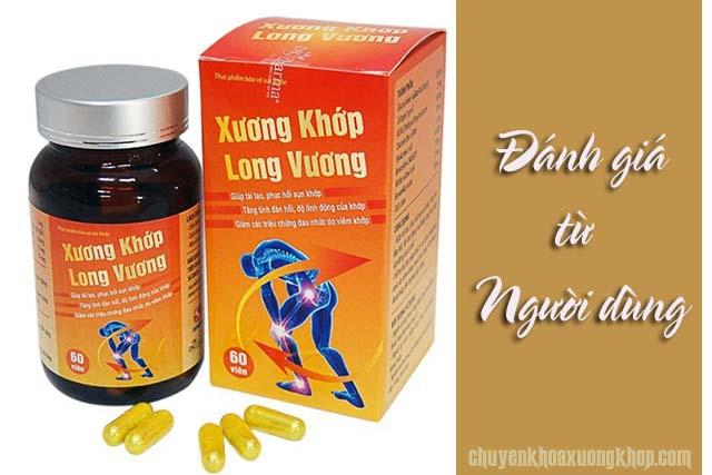 Đánh giá từ người dùng về Viên uống xương khớp Long Vương