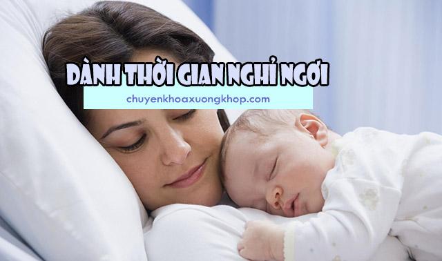 phòng ngừa bệnh đau thần kinh tọa sau sinh