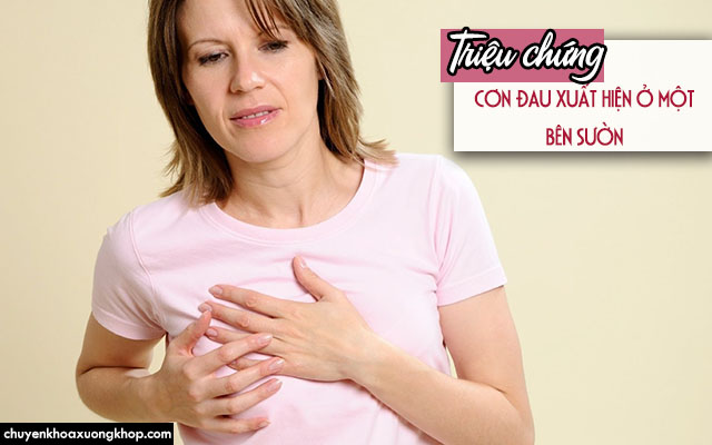 Triệu chứng đau dây thần kinh liên sườn khi mang thai