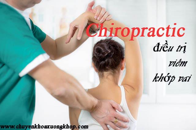 Điều trị viêm khớp vai bằng phương pháp Chiropractic