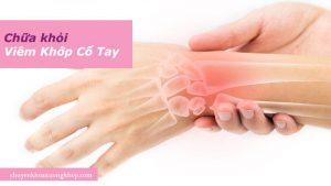 điều trị viêm khớp cổ tay không cần thuốc