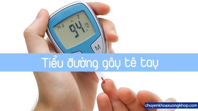 bị tê tay do tiểu đường