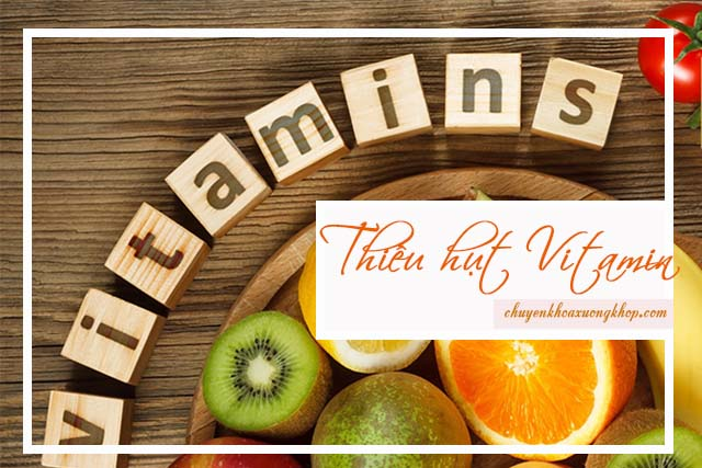 thiếu hụt vitamin gây tê tay