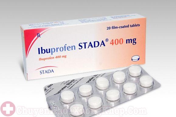 Ibuprofen-thuốc chữa trị bệnh viêm khớp háng
