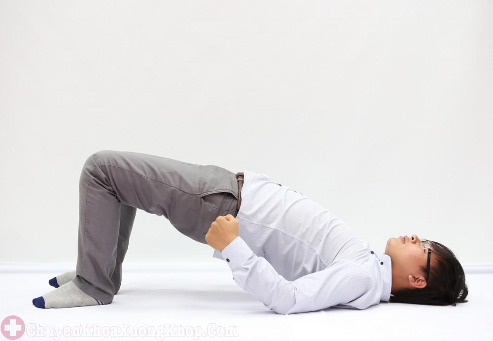 bài tập điều trị thoát vị đĩa đệm cổ