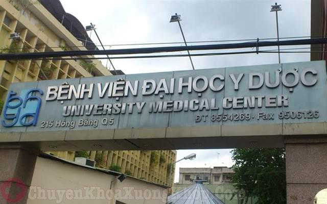 Bệnh viện ĐH Y Dược TPHCM- địa chỉ tiêm dịch cho khớp gối uy tín