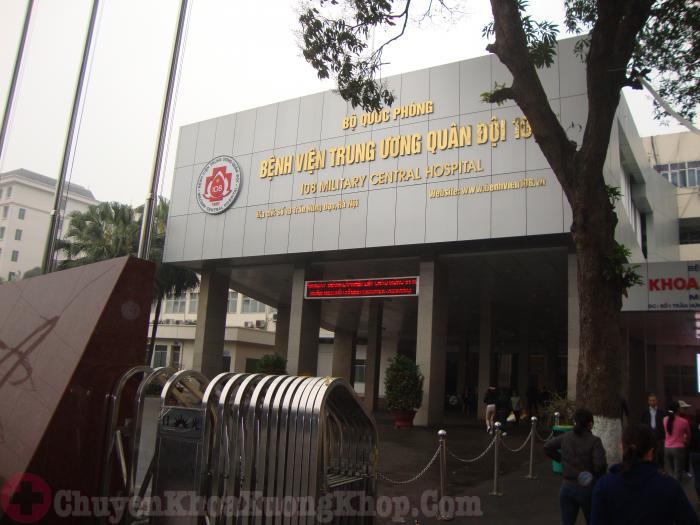 Bệnh viện 108- địa chỉ chữa phình đĩa đệm tốt tại Hà Nội