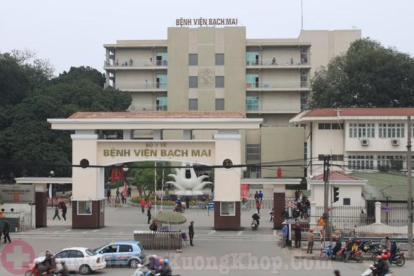Bệnh viện Bạch Mai- địa chỉ chữa phình đĩa đệm tốt tại HN
