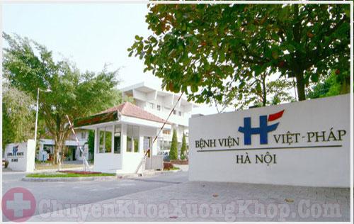 bệnh viện Việt Pháp- địa chỉ chữa phình đĩa đệm tốt tại Hà Nội