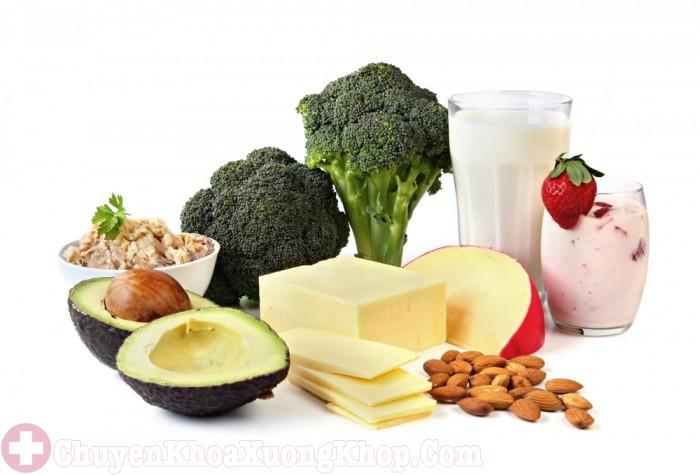 Các thực phẩm giàu canxi giúp phòng ngừa loãng xương