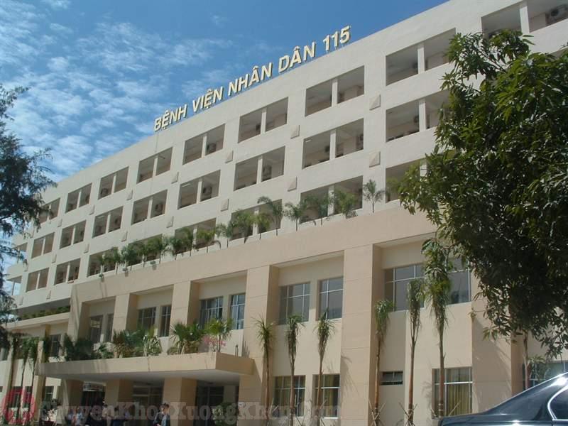 Bệnh viện 115- địa chỉ tiêm dịch khớp gối uy tín