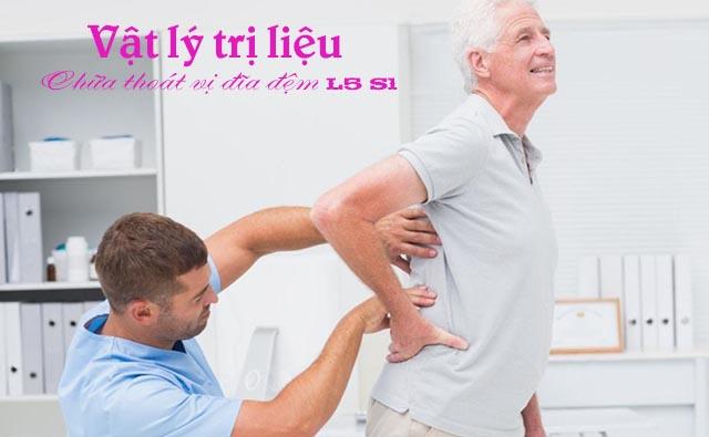 Vật lý trị liệu chữathoát vị đĩa đệmL5 S1