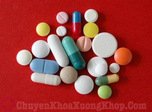 dùng thuốc điều trị thoát vị dĩa đệm L5 S1