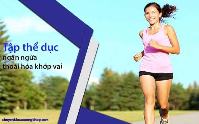 tập thể dục ngăn ngừa thoái hóa khớp vai