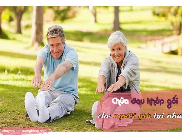 chế độ nghỉ ngơi cho người già đau khớp gốii