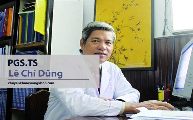 bác sĩ chữa thoái vị đĩa đệm giỏi tại TP HCM Lê Chí Dũng
