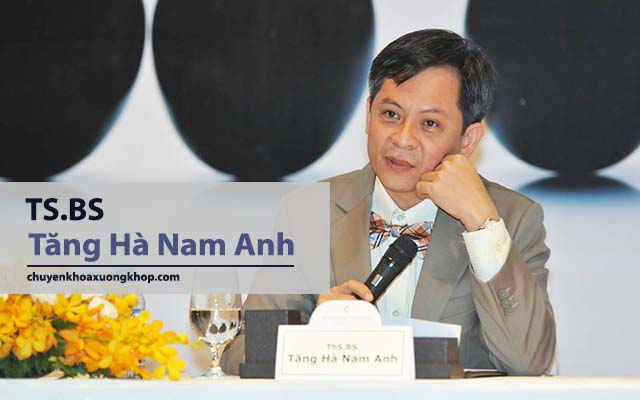 bác sĩ chữa thoái vị đĩa đệm giỏi ở TP HCM Tăng Hà Nam Anh