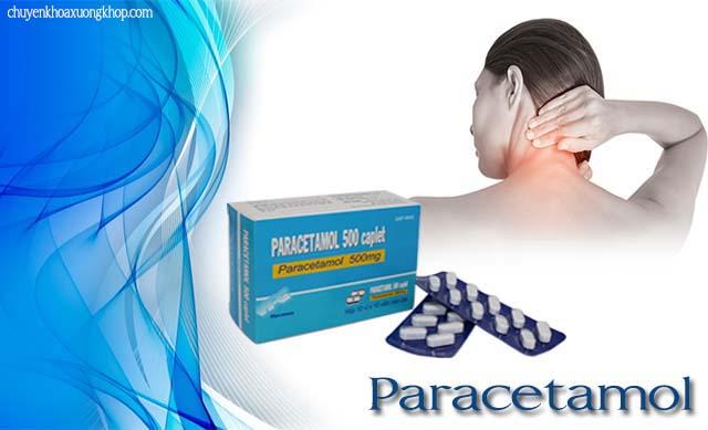 bị thoái hóa cột sống nên uống paracetamol