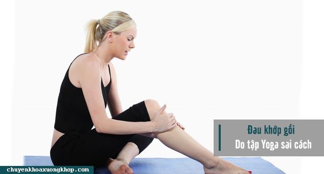Tập Yoga sai cách