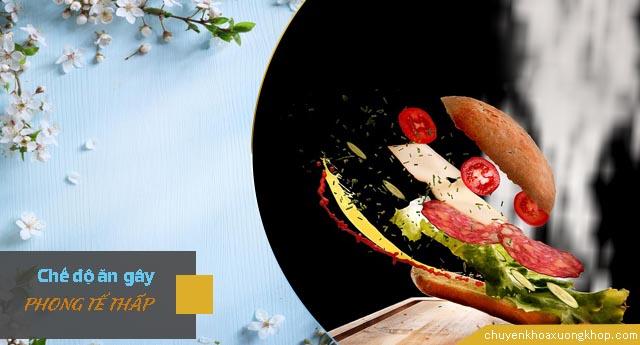 Chế độ ăn uống gây phong tê thấp