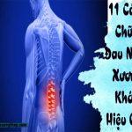 11 cách chữa xương khớp hiệu quả
