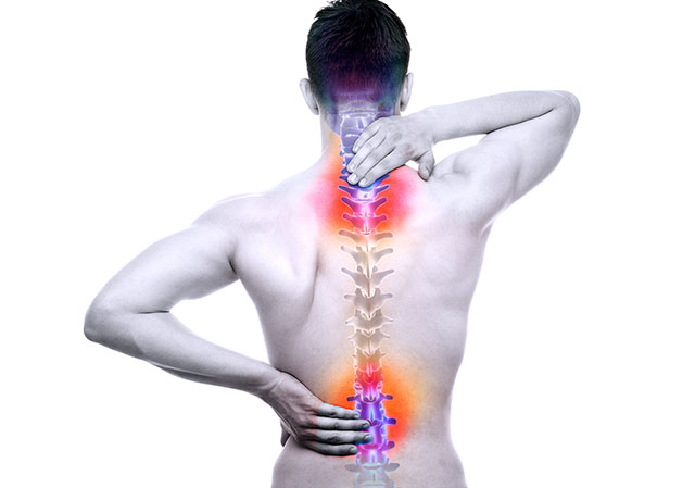 Vị trí cổ và lưng thường xảy ra thoát vị đĩa đệm