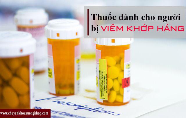 Thuốc điều trị bệnh viêm khớp háng