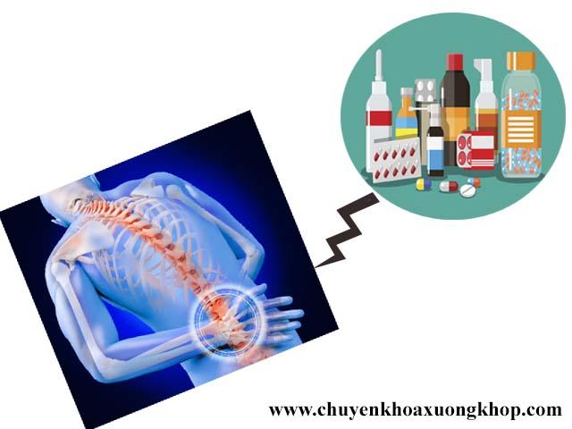 Thuốc chữa thoái hóa cột sống thắt lưng