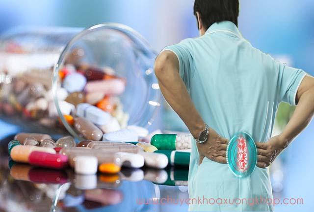 Thuốc chữa vôi hoá cột sống