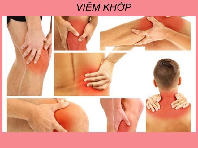 đau khớp là triệu chứng của viêm đa khớp dạng thấp