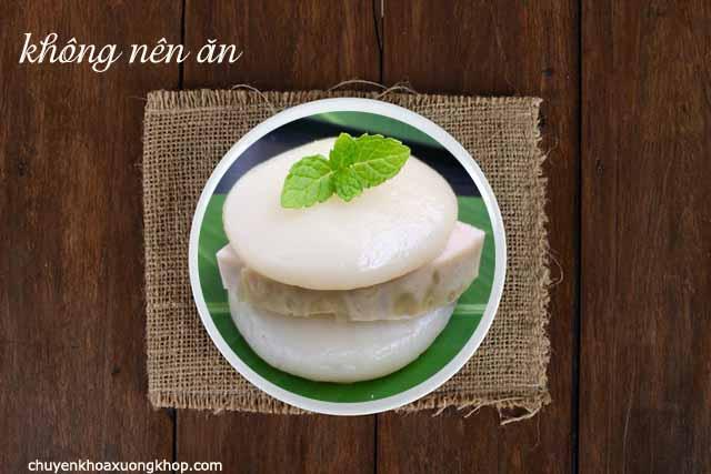 bệnh viêm khớp không được ăn các thức ăn làm từ bột nếp