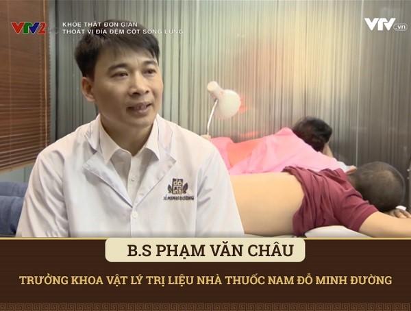 Bác sĩ Phạm Văn Châu giới thiệu liệu pháp châm cứu, bấm huyệt chữa thoái hóa khớp gối