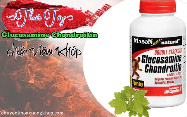 Glucosamine Chondroitin chữa viêm khớp