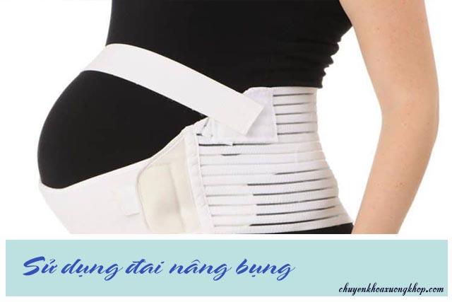 đai nâng bụng hạn chế đau khớp háng khi mang thai
