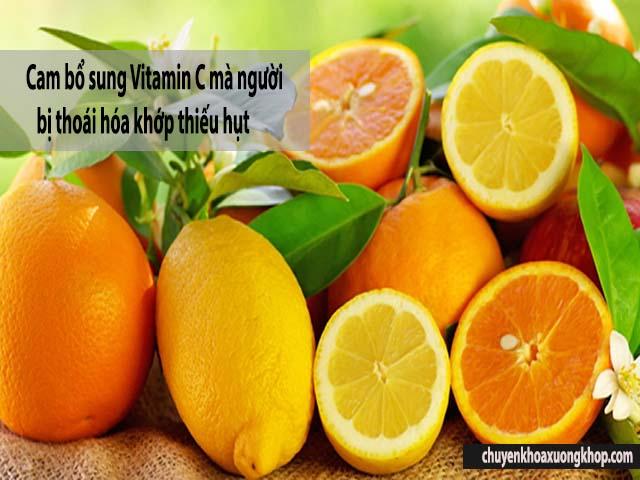 thoái hóa khớp nên ăn gì bổ sung trái cây